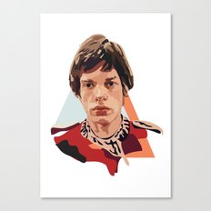 Young Jagger Canvas Print