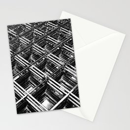 Rebar On Rebar - Industrial Abstract Stationery Cards