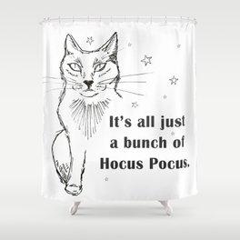 Hocus Pocus cat Shower Curtain