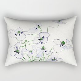 Tethered Butterflies Rectangular Pillow