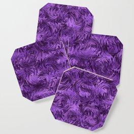 Marbled Paisley - Purple Coaster