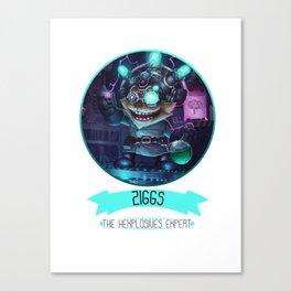League Of Legends - Ziggs Canvas Print