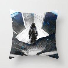 Astronaut Isolation Throw Pillow