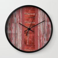 rustic Wall Clocks featuring Rustic by Mirabella Market