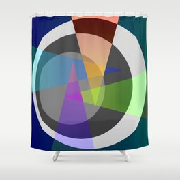 Colour is grey's enemy Shower Curtain