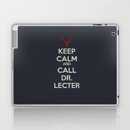 Keep Calm and Call Dr. Lecter Laptop & iPad Skin