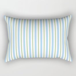 abstract heavenly and green lines Rectangular Pillow