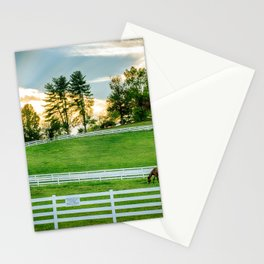 Sunrise on the Ranch Stationery Cards