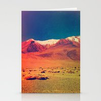 saturn Stationery Cards featuring Saturn. by Daniel Montero
