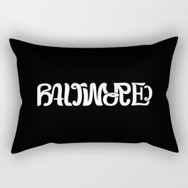 Baltimore Charm (Ambigram) Rectangular Pillow