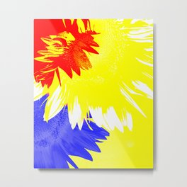 Flora Abstracta Metal Print