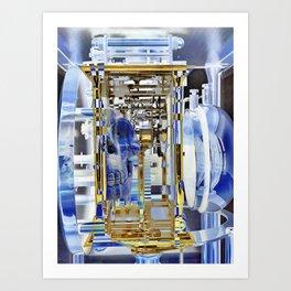 Lapis Skull Maschine Art Print