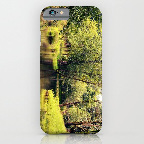 a tree by the river iPhone & iPod Case