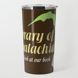 Come Look at Our Book Travel Mug