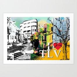 I LOVE TLV Art Print