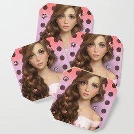 Candy Kiss Coaster