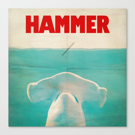 Hammer (square format) Canvas Print