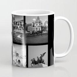 Rome Poster black and white Coffee Mug