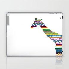 Giraffe with Tribal Pattern Laptop & iPad Skin