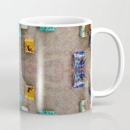 Toppled Ceramic Tiling 2 Coffee Mug