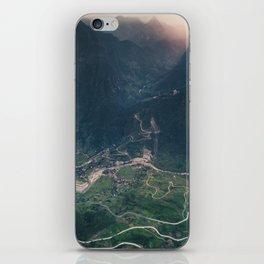 Mountainous town, Sa Pa, Vietnam iPhone Skin