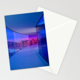 Blue Panorama Stationery Cards