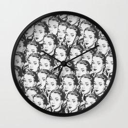 Eyes 1889 Wall Clock