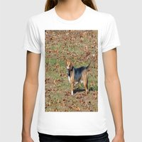 beagle T-shirts featuring Beagle by Frankie Cat