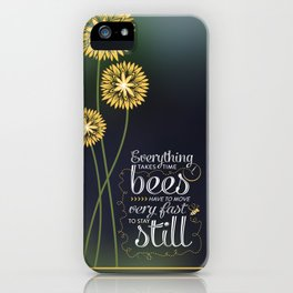 David Foster Wallace on Bees  iPhone Case