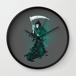 SPACE REAPER- halloween artwork death reaper Grim Reaper Wall Clock