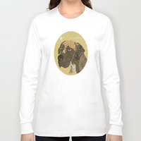 great dane Long Sleeve T-shirts featuring the great dane by bri.buckley