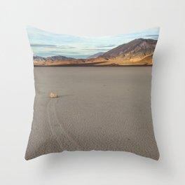 Sliding Rock Throw Pillow