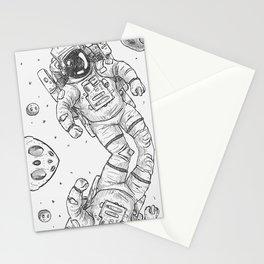 astro Traveller Retro Stationery Cards