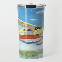 float plane - by phil art guy Travel Mug
