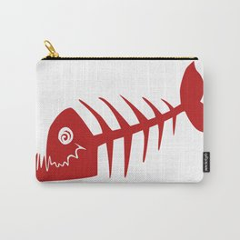 Pirate Bad Fish red- pezcado Carry-All Pouch