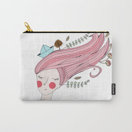 Let her sleep for when she wakes she will move mountains Carry-All Pouch