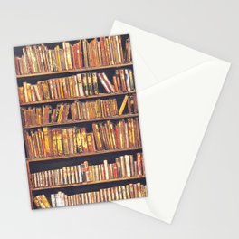 Books, books, books Stationery Cards