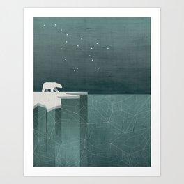 Ursa Major / Polar Bear Art Art Print