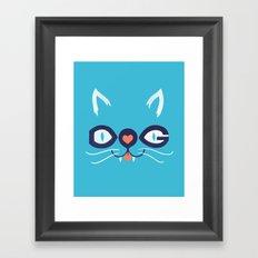 Cats 'n Dogs! Framed Art Print