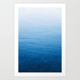 Smooth Ice Art Print