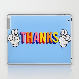 """Thanks"" Laptop & iPad Skin"