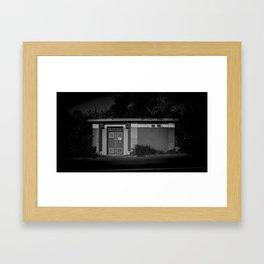The Christchurch Electricity Substation Project IX Framed Art Print