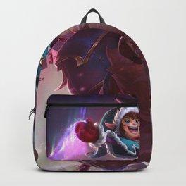 Workshop Nunu Splash Art Wallpaper Background Official Art Artwork League of Legends Backpack