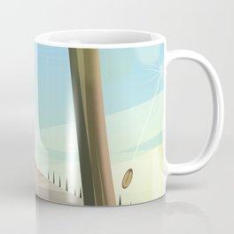 Eagle in the landscape Coffee Mug