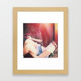 V I . F I O R E Framed Art Print