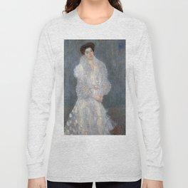 Gustav Klimt - Portrait of Hermine Gallia Long Sleeve T-shirt