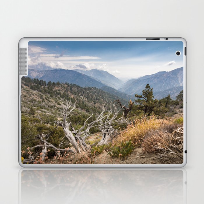 Inspiration Point along Pacific Crest Trail Laptop & iPad Skin