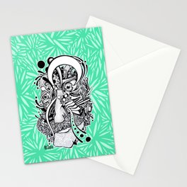 Mr. Melancholy Stationery Cards
