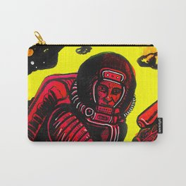 Retro Rocketman Carry-All Pouch