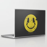 quentin tarantino Laptop & iPad Skins featuring Music Smile by Sitchko Igor